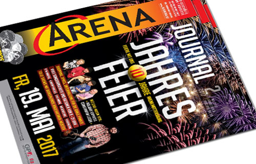 Arena Shopping Journal